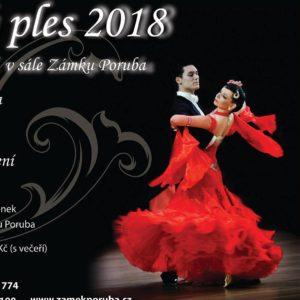 Zámecký ples 2018 dne 17.2.2018 od 19.00 hod.