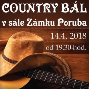 Country bál  14.4.2018