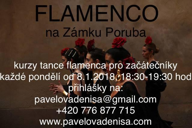 Kurzy FLAMENCA pro začátečníky od 8.1.2018