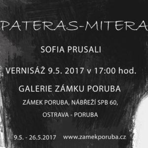 Výstava obrazů a kreseb SOFIE PRUSALI 9.5.2017 v 17.00 hod.