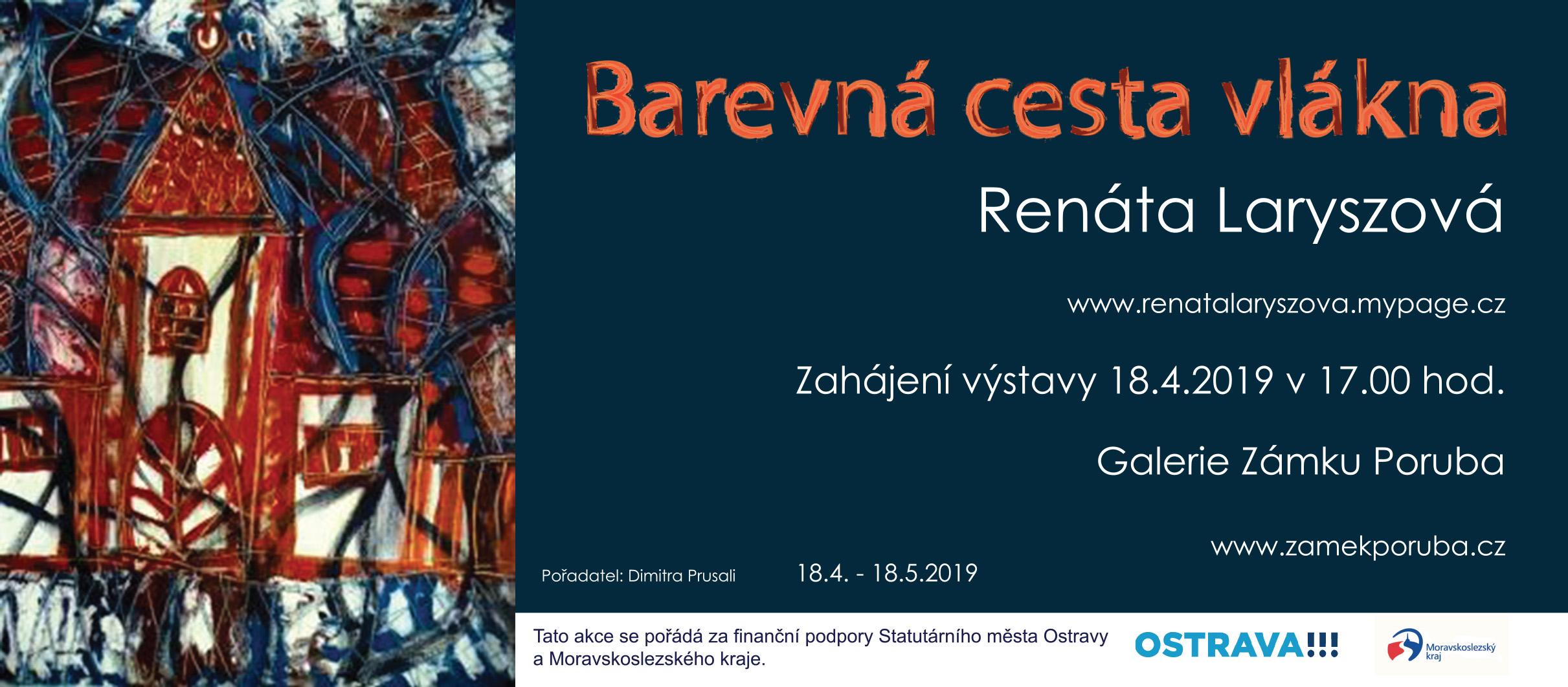Výstava Renáta Laryszová