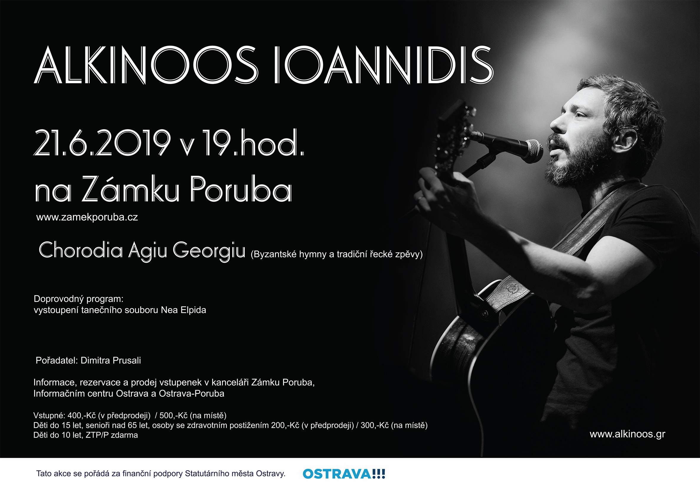 Alkinoos Ioannidis 21.6.2019 v 19:00 hod.
