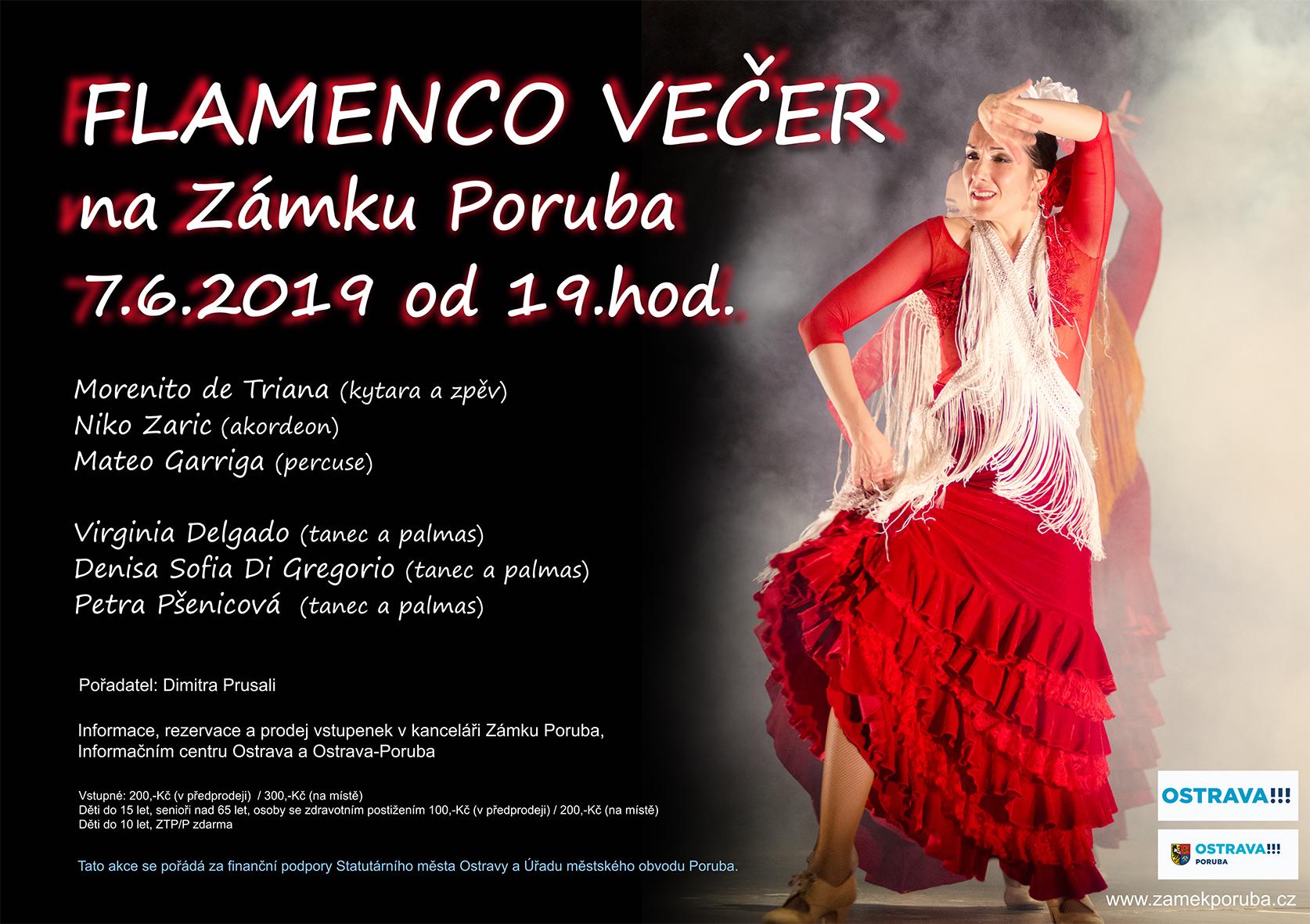 Flamenco večer 7.6.2019 od 19:00 hod.